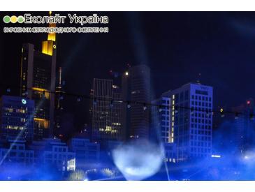 Светодиодное освещение на 25-летия единства Германии