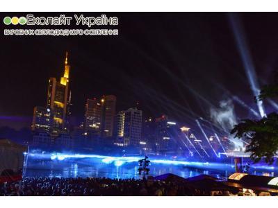 Світлодіодне освітлення на 25-річчя єдності Німеччини