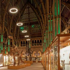 Світлодіодне освітлення в музеї університету