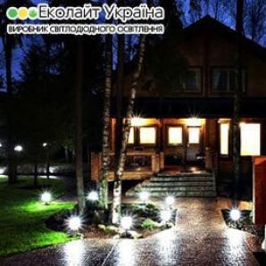 Вуличні світильники для заміського будинку і дачі