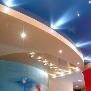 Led светильники для натяжных потолков