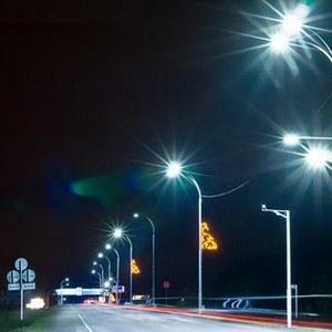 Монтаж светильников уличного освещения