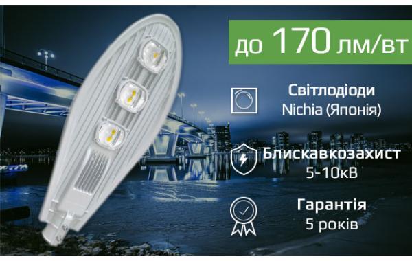 Вуличні лед світильники