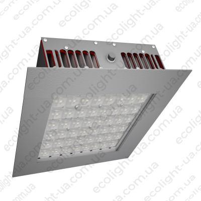 Світлодіодний світильник для АЗС 75Вт 5000К 7125Лм