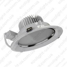 Світильник точковий врізний LED 40Вт 5000К 4000Лм