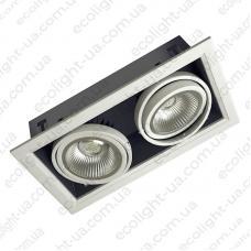 Встраиваемый карданный светодиодный светильник 28Вт 5000К 2650Лм