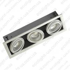 Встраиваемый карданный светодиодный светильник 44Вт 5000К 4180Лм