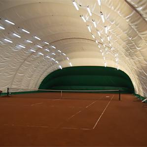 LED освітлення 2-ух тенісних кортів спорт-клубу «Максимум»
