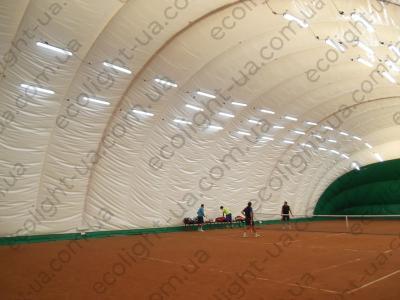 LED освещение 2-ух теннисных кортов спорт-клуба «Максимум»