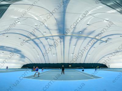 LED освітлення 3-х тенісних кортів в Києві