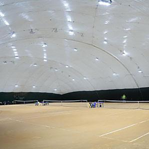 Освещение теннисных кортов «Корты на Подоле»
