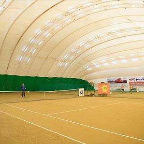 Освещение двух теннисных кортов в городе Харьков