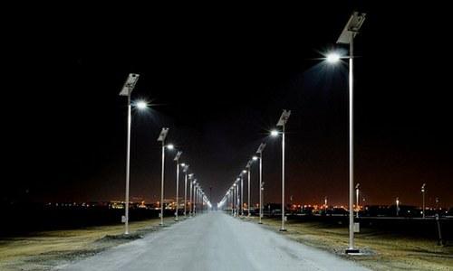 Светодиодное уличное освещение дорог