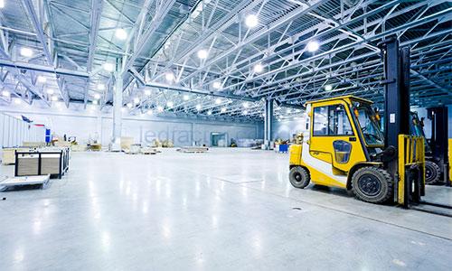 LED светильники для склада