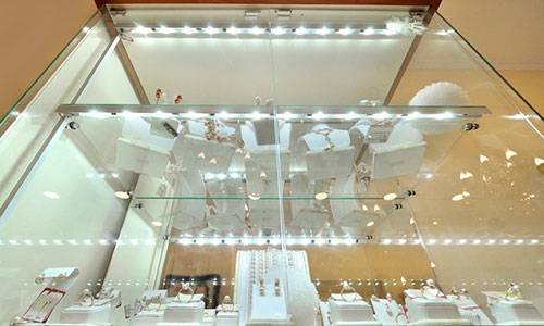 Светодиодное освещение витрин