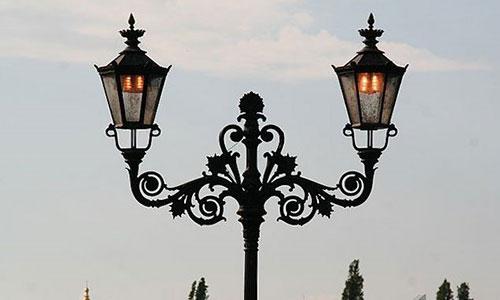 Вуличні led світильники в стилі модерн