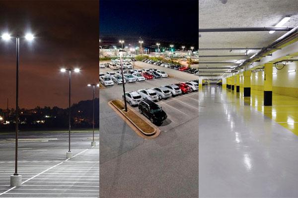 LED освещение парковок